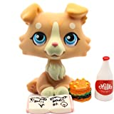 BGTOY Custom-Made Baby for Collie 2452 Yellow Dog 1 Inch Puppy Mini Bobble Head Pet Shop Toys