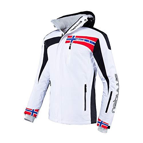 Nebulus Skijacke Freestyle T142 (Modell: Q681 / Herren, weiß; Größe: XL) FBA