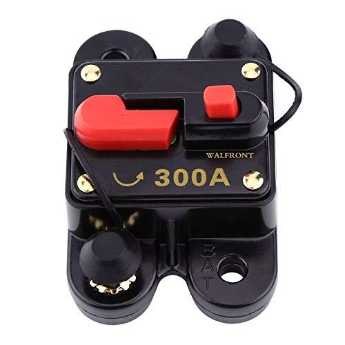 12V-24V 80-300A DC Auto Car Marine Boat Bike Stereo Audio Circuit Breaker Reset Fuse (300A)