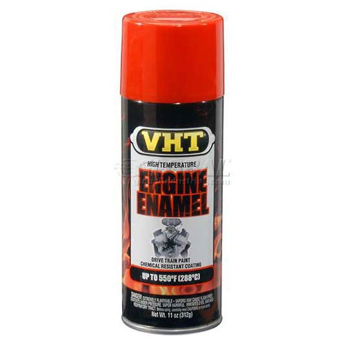 Vht High Temperature Engine Enamel Chevy Orange 11 Oz. Aerosol - Lot of 6
