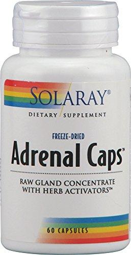 Adrenal Caps 170mg Solaray 60 VegCaps