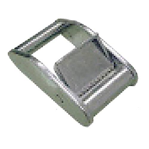 ベルト荷締機用交換部品・先端金具 25V バックル V型 適用ベルト巾 25 mm スリーエッチ HHH H