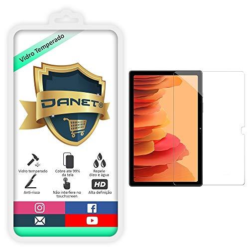 """Película De Vidro Temperado Para Samsung Galaxy Tab A7 T505 com Tela de 10.4"""" - Proteção Blindada Anti Impacto Top Premium - Danet"""