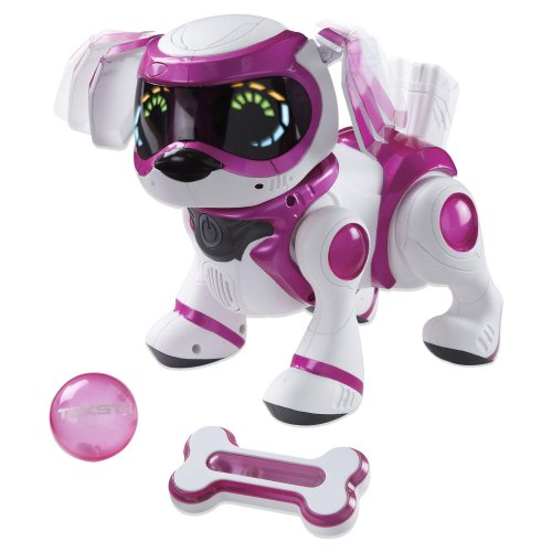 Tekno 4G Interactive Robotic Puppy (Pink/Red/White)