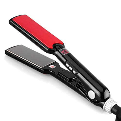 Plancha de pelo de titanio Nano de hierro plano profesional, MCH de...