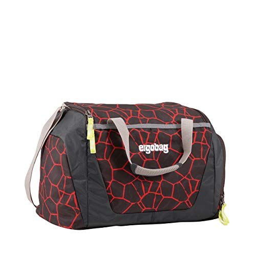 ergobag Deportivo Lava Red Black