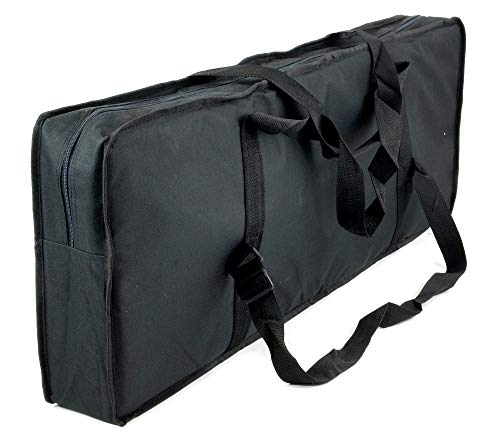 "Keyboard Organ GIG BAG 35"" Padded Zippered Storage Travel Case Large Portable"