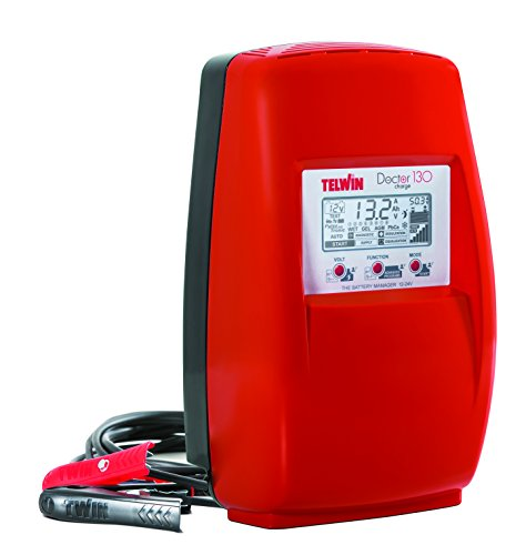 Telwin 807599 Model Doctor Charge 130 Cargador de Baterías, 200mm x 260mm x 340mm