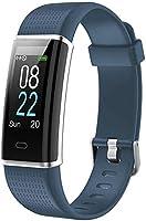 Willful Orologio Fitness Uomo Donna Smartwatch Fitness Tracker Cardiofrequenzimetro da polso Contapassi Calorie Sonno...