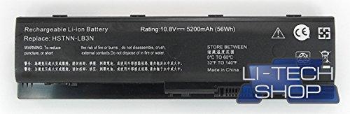 LI-TECH Batteria Compatibile 5200mAh per CODICE HP TPNW106 6 Celle PILA Nuova 57Wh 5.2Ah