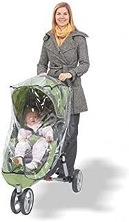 Comfy Baby! Universal Single Jogging Stroller Waterproof Rain Cover/Wind Shield