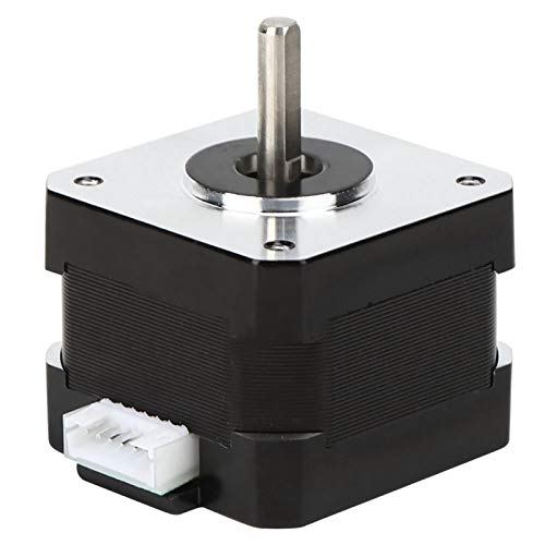 Large Torsion 2 Phase DC Stepper Motor Electronic Components 3D Printer Motor Rated Power 0.05KW for Cutting Machine for Polishing Machine(42-34)