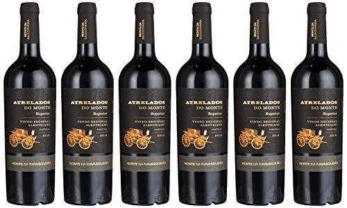 Atrelados do Monte - Superior-Auswahl Alentejo Rotwein 0,75l - 6 Flaschen