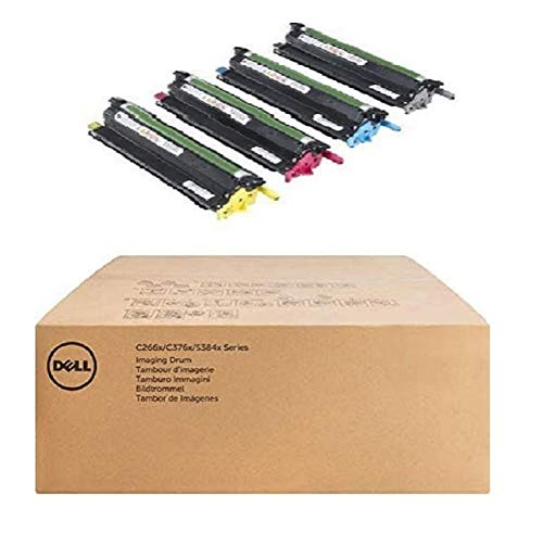 Dell 331-8434 Laser Cartridge, Cyan, Magenta, Yellow Laser Toner Cartridge – Toner Cartridge (Laser Cartridge, Cyan, Magenta, Yellow, 4 Piece (S))