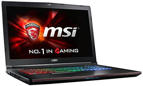 MSI GE72-6QF8H1FD 43,9 cm (17,3 Zoll) Laptop (Intel Core i7 -6700HQ (Skylake), 8GB DDR4 RAM, 1TB HDD, NVIDIA Geforce GTX 970M, kein Betriebssystem) schwarz