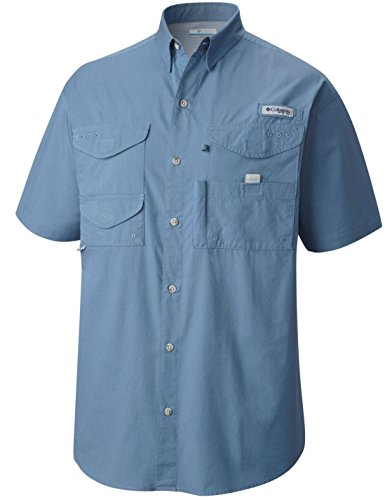 Columbia Bonehead Short Sleeve Shirt Camisetas atléticas, para Hombre, extendido