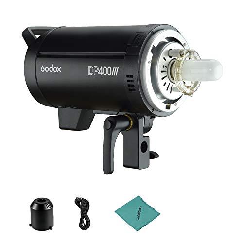 Godox DP400III Flash da studio professionale 400Ws 2.4G Wireless X System Illuminazione stroboscopica con attacco Bowens 5600K Temperatura colore Fotografia Flash