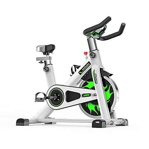 Indoor-Heimtrainer, Spin-Bike-Studio-Fahrräder Trainingsgeräte Cardio-Workout Magnetisches Heimtrainer, Verstellbarer Lenker Sitz LED LED Zeitabstand Kalorien Maximale Tragfähigkeit 150 kg