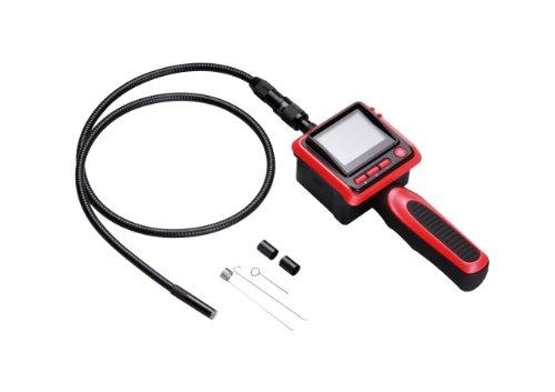 Unitec 20998 Inspektions-Endoskop mit integriertem LCD-Monitor