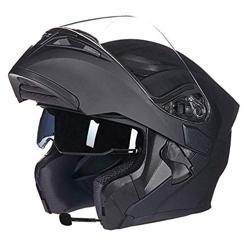 MP3 Bluetooth Integrado Motocicleta Casco Moto Flip Funcional Casco Moto Casco de la Cara Llena de Casco Modular