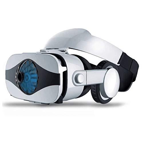 JYMYGS VR Brille, HD 3D Virtual Reality Brille, für 3D Film und Spiele, Geeignet 4,0-6,0 Zoll Smartphone Handy für iPhone SE 6/6s/7/8/X/XS, Samsung Galaxy S6/S7/S8/S9, Huawei p10/p20. N031JL