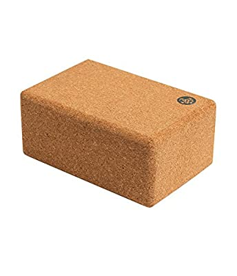 Manduka Yoga Block, Resilient Material, Portable Fit & Easy to Grip, Comfortable Edges, Multi Style & Size