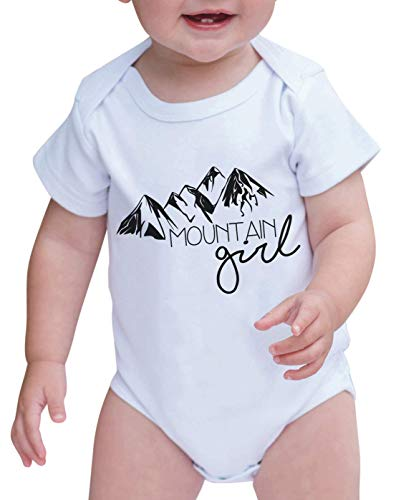 7 ate 9 Apparel Baby's Mountain Girl Outdoors Onepiece 0-3 Months Black