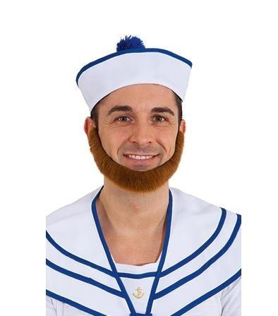 Bart Matrose tizian Seemann Seefahrer Fasching Karneval