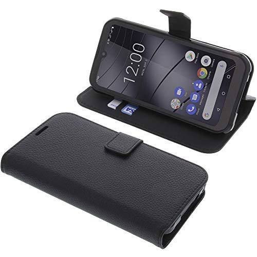 foto-kontor Tasche für Gigaset GX290 / GX290 Plus Book Style schwarz Schutz Hülle Buch