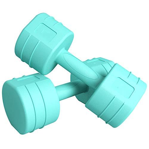 ZJJ Tragbares Fitness-Hantel-Set, 1 STÜCK Yoga Pilates Kleines Hantel-Heimtrainingsgerät Übungs-Trainingszubehör Geeignet für Frauen Kinder 1,5 kg-3 kg,2kgx2