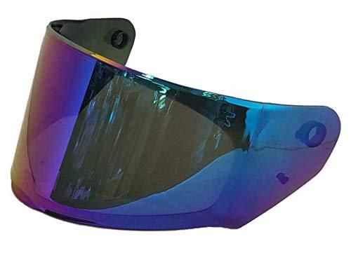 LS2 Écran compatible avec les modèles de casques Rapid FF353 et Stream FF320, iridium bleu