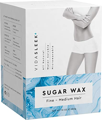 Check Price Hair Removal Waxing Kit Men Women All Natural