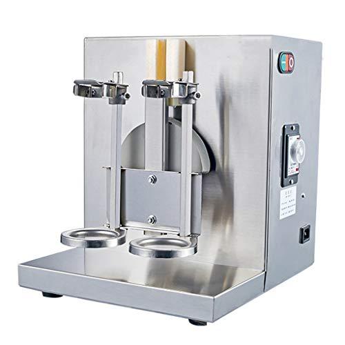 MXBAOHENG Doppelrahmen Auto Milch Tee Shaker Milch Schütteln Maschine 400 U/min 220 V Milchshake Maschine Milchshake Maker Milchaufschäumer Maschine für Frappe/Aufschäumen/Milk/Säfte