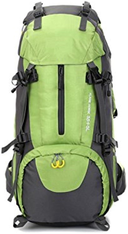 OHlive OHlive OHlive Grosse Kapazität Sport-Outdoor-Rucksack 60L große Kapazität Klettern Tasche Wandern Rucksack (grün) B07KXP7P6G | Um Eine Hohe Bewunderung Gewinnen Und Ist Weit Verbreitet Trusted In-und   1e9de2