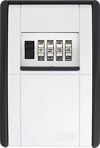 ABUS KeyGarage™ 787 - Schlüsselbox zur Wandmontage - für Schlüssel oder kleine Wertgegenstände - Schwarz-Silber