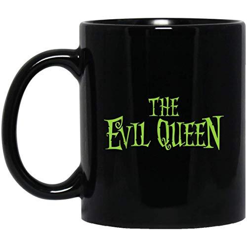 Boze koningin Moeder Grappige Halloween bijpassende familie kostuum 11 oz. Zwarte mok