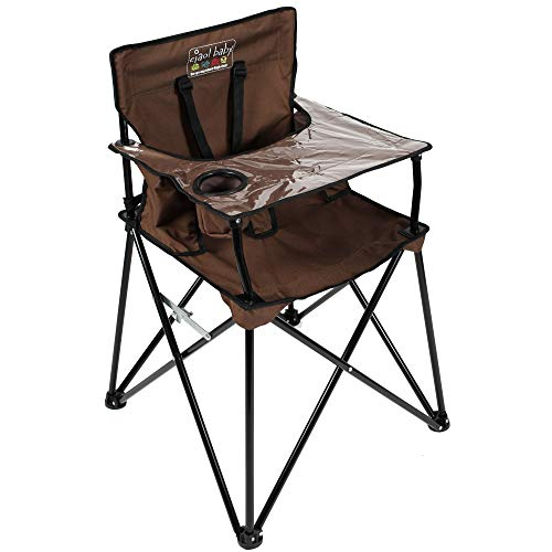 Big Save! ciao! baby Portable High Chair for Travel, Frustration Free Fold Up High Chair with Easy C...