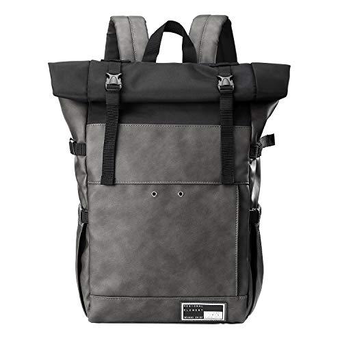 Sevego Laptop-Rucksack, stilvoller Freizeit-Tagesrucksack, wasserfester Reise-Wanderrucksack, 15,6-Zoll-Computer-Schultasche für Frauen und Männer