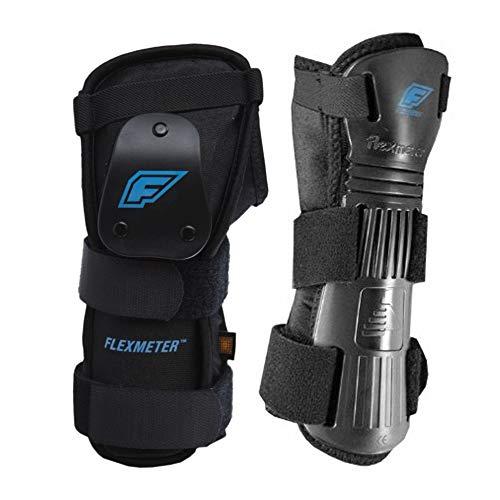 Flexmeter Flexguard D3O Protektoren für Handgelenk, für viele Sportarten, Doppel-Schiene, Größe L