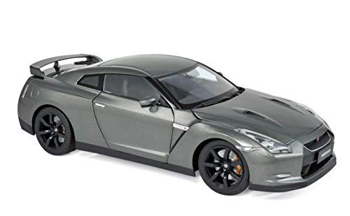 2008 Nissan GTR R-35 Metallic Dark Gray 1/18 Diecast Model Car by Norev 188053
