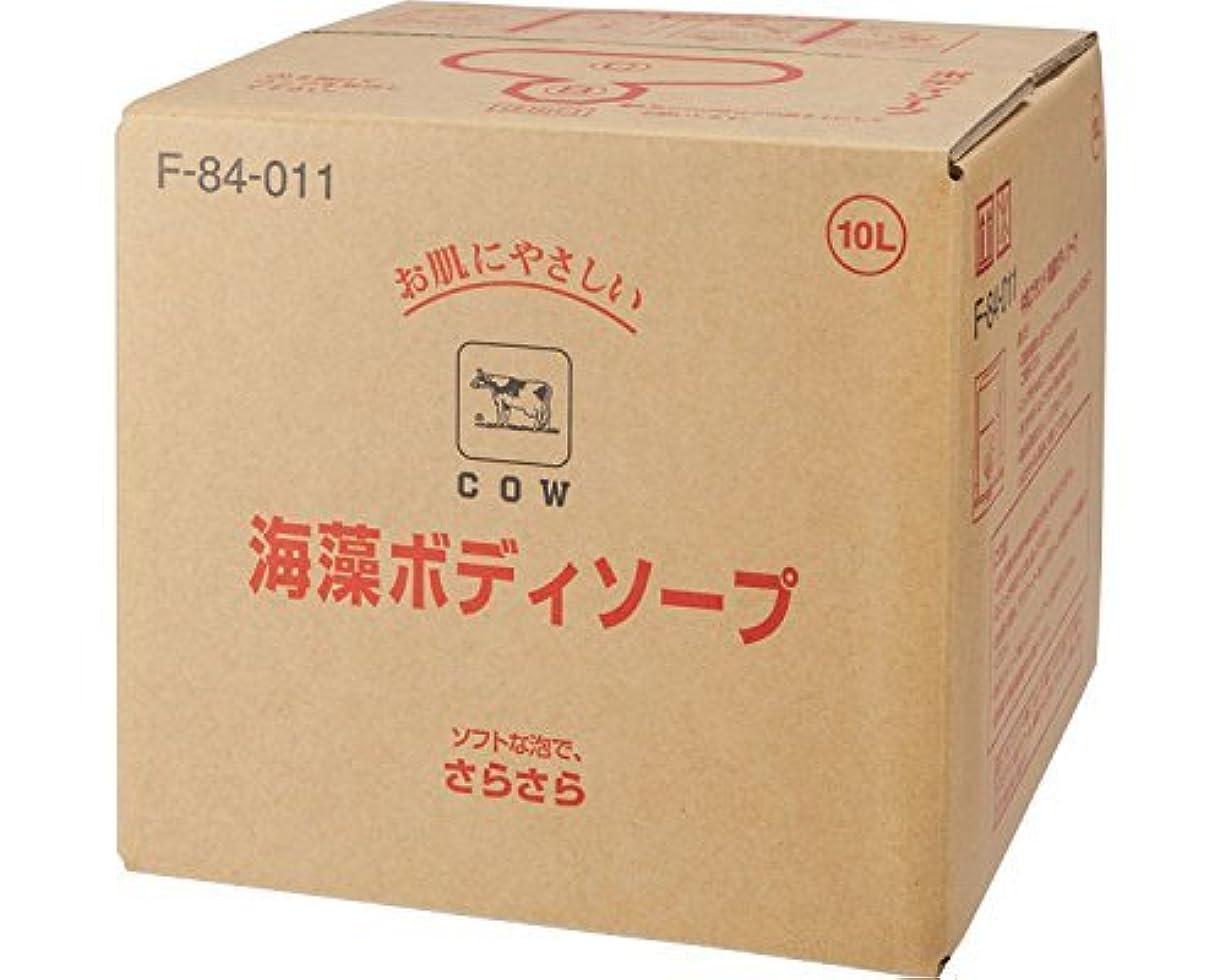覗く専門用語目覚める牛乳ブランド 海藻ボディソープ /  10L F-84-011 【牛乳石鹸】 【清拭小物】