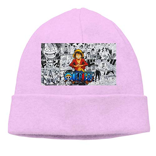 Lawenp Hombres Mujeres Skull Cap ONE Luffy Piece Beanie Sombreros para exteriores