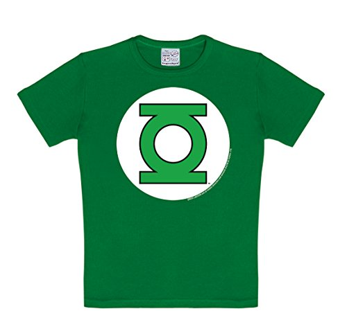 Logoshirt Camiseta niño Linterna Verde   Logotipo