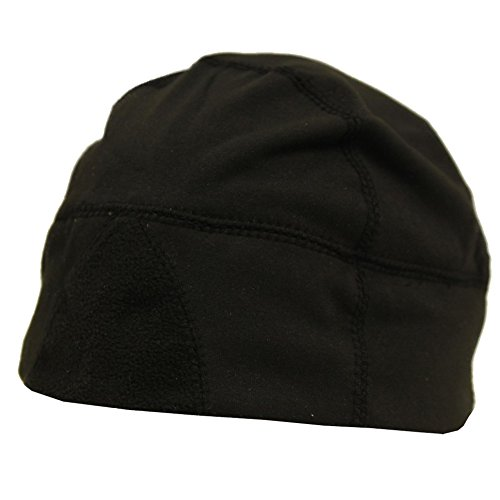 Urban Boundaries Moisture Wicking Thermal Black Running Winter Skull Cap/Beanie for Men
