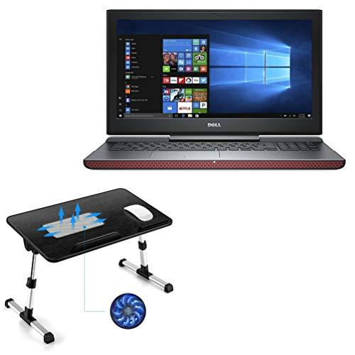 Suporte e suporte para Dell Inspiron 15 7000 (7567), BoxWave [suporte de mesa de madeira verdadeira para laptop para um trabalho confortável na cama. Para Dell Inspiron 15 7000 (7567) - Preto