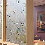 LMKJ Película de privacidad en Ventanas Pegatinas de Vidrio de Colores 3D Autoadhesivas Decorativas Pegatinas electrostáticas esmeriladas Película de Vidrio de PVC A49 30x200cm