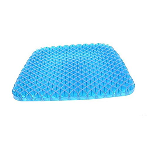 ZXMDP Gel Kussen voor rolstoel voor pijnverlichting inclusief Coccyx Pijn voor autostoel thuiskantoor of rolstoel