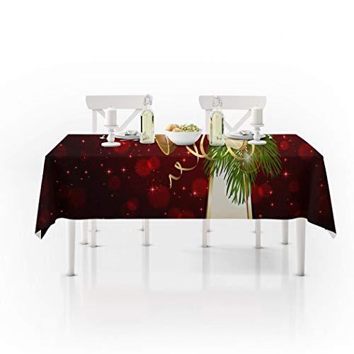 Kerstmis Tafel Linnen Dressoir Sjaals Tafel Decoratie voor Kerstmis Feestartikelen 150x300cm Stijl a