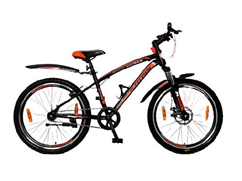 Kross Maximus Pro 26T Single Speed Road Racing Bike Front Shocker and Disc Brake Black Bicycle Age...