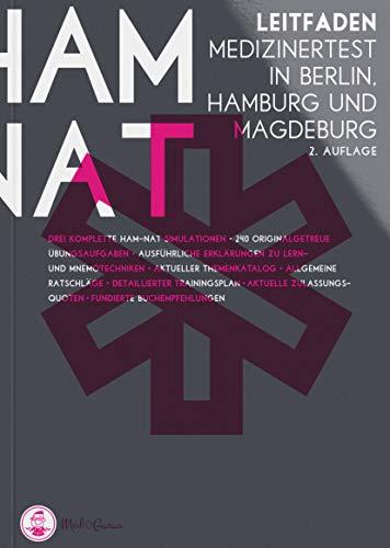 HAM-Nat 2019 I Leitfaden und Online-Plattform für die ideale Vorbereitung auf den Medizintest in Hamburg, Berlin, Magdeburg I Inkl. 240 Übungsaufgaben, HAM-Nat Simulation und E-Learning Plattform